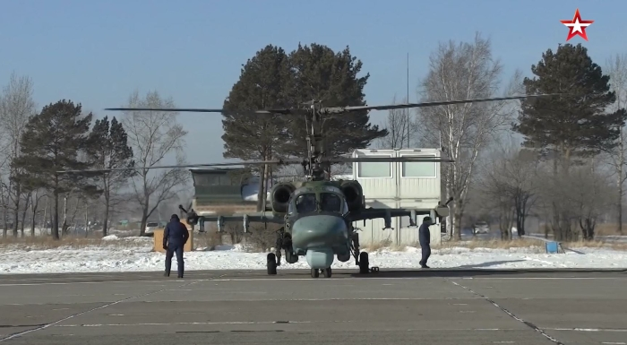 Ka-52 Aligator (Timsah) <br> Kamov tarafından tasarlanan Kas-52 Timsah, 1997'de ilk uçuşunu gerçekleştirdi.