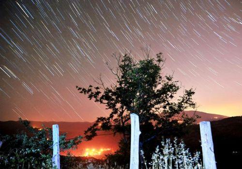 Meteor yağmuru Türkiye'den böyle izlendi