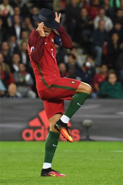 Ronaldo internetin eline düştü