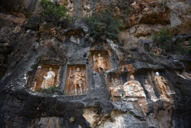 Türkiye'nin en gizemli mekanı: 'Adam Kayalar'