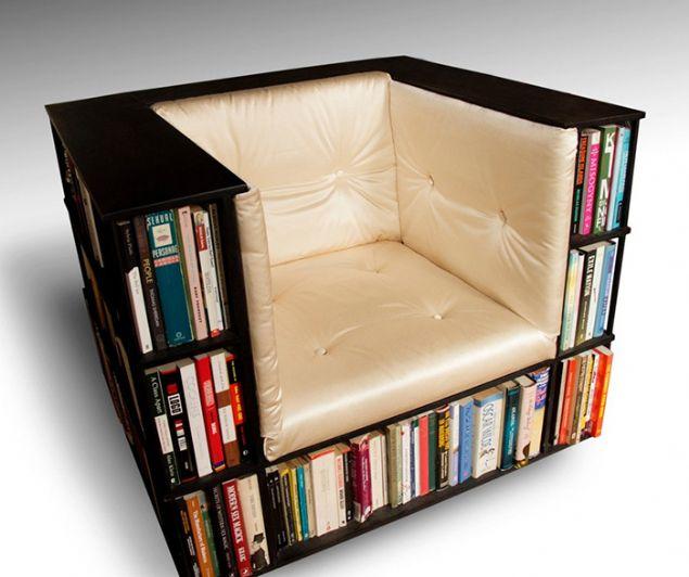 Harika kitaplık tasarımları