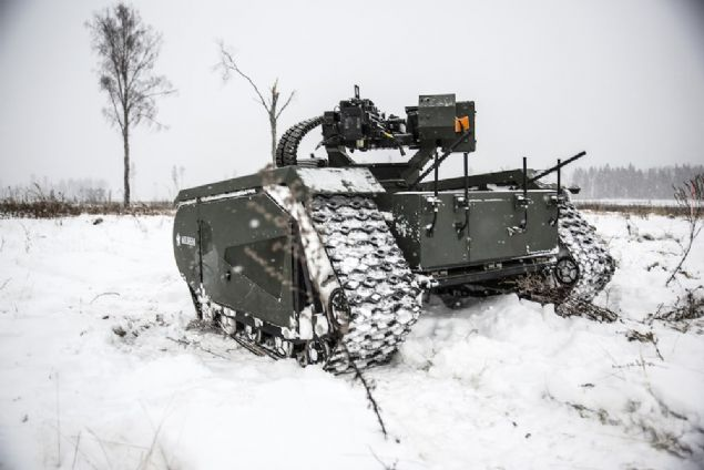 Şirket yaptığı açıklamada ADDER isimli mini tankın yakında askerlerle birlikte operasyonlara katılabilecek.