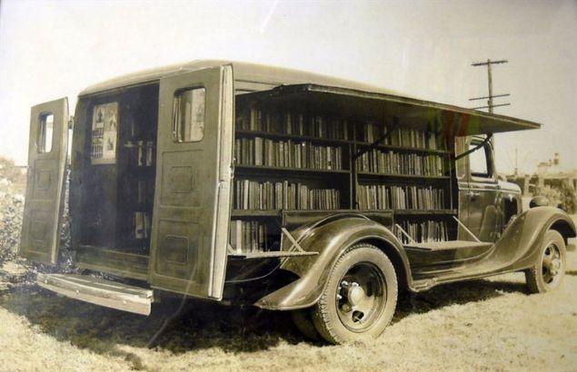 Geçmişin internet görevini gören seyyar kütüphaneler