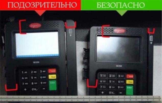 04bd7f1d27f7a Soldaki sahte cihaz sağdaki ise gerçek. İkisinin arasında yükseklik ve  genişlik farkları vardır.