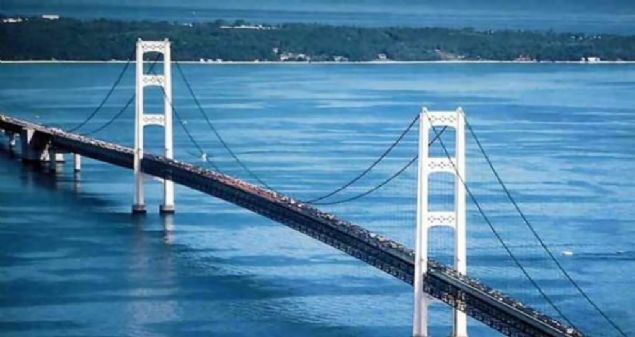 Köprünün toplam uzunluğu: 3.860