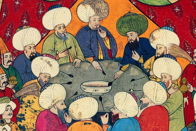 Padişahların iftar sofralarını süsleyen yemekler