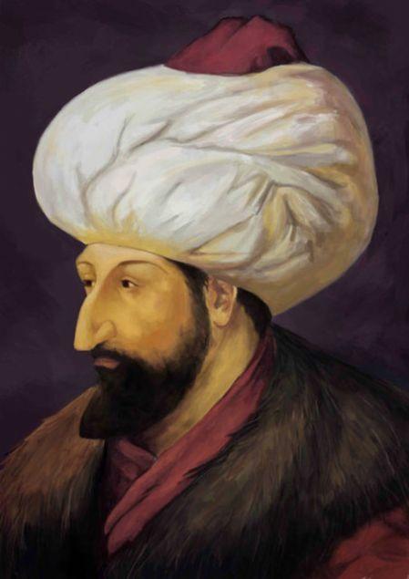 Fatih Sultan Mehmet <br><br>  Baba, eğer padişah siz iseniz geliniz ve ordunun başına geçiniz. Yok, eğer padişah ben isem, size emrediyorum! Gelip ordunun başına geçiniz.