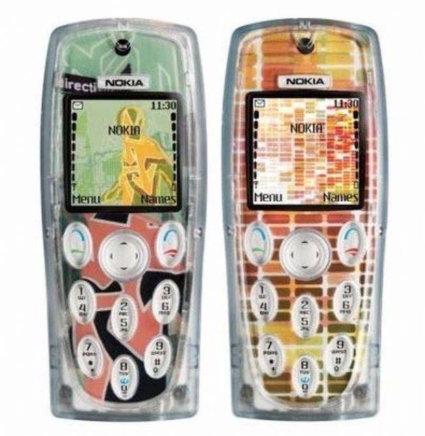 Nokia 3200  2003 yılında satışa sunulan Nokia 3200, tasarımıyla pek çok telefondan farklıydı.