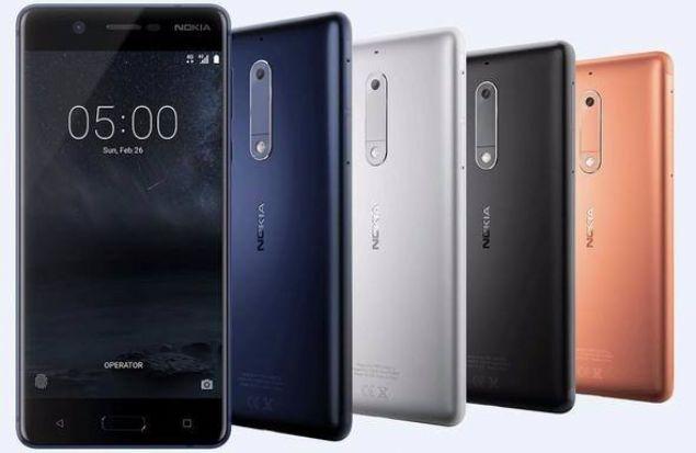 Nokia 5  Nokia'nın Nokia 3310 dışında tanıttığı ve günümüze son teknolojisiyle daha yakın telefonlarından biri Nokia 5 ismini taşıyor.