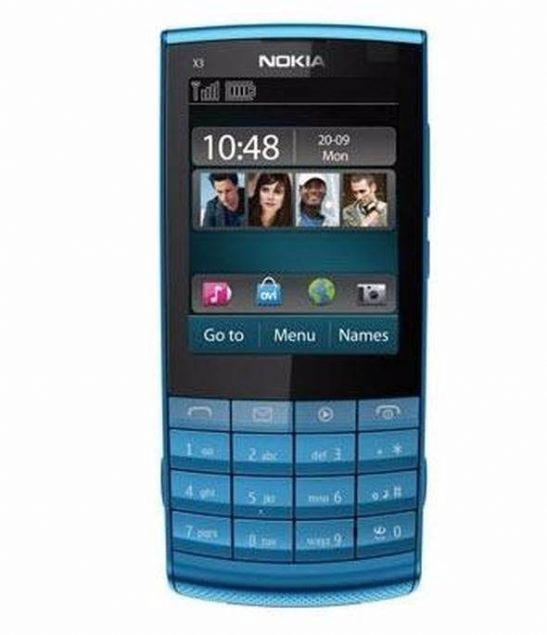 Nokia X3-02  240x320 piksel ekran çözünürlüğüne sahip Nokia X3-02'nin 5 megapiksel dahili kamerası vardı.
