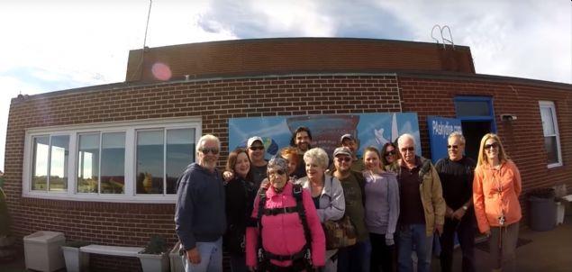 ABD'nin Pensilvanya eyaletinde yaşayan 94 yaşındaki yaşlı kadının doğum gününde yaptığı çılgınlık görenleri şaşkınlık içinde bıraktı.