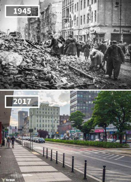 Geçmişten günümüze gelen tarihi yapıların çok azı ilk haliyle kalabiliyor. Meydana gelen doğa olayları ve insan etkilerine rağmen günümüze ulaşmış güzel yapıları sizler için derledik. İşte o yapılar...      <br><br>    Marcin Street, Poznan, Polonya