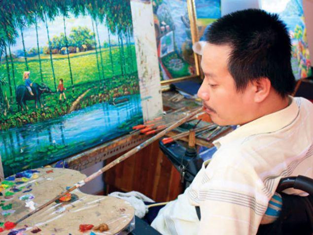 Gerçek bir sanatçı için hiçbir şey engel değil