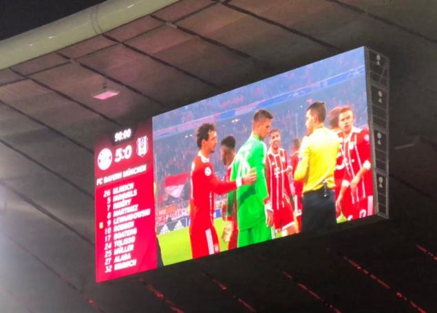 Bayern Münih 5 - 0 Beşiktaş  <br><br>  UEFA Şampiyonlar Ligi 2017/2018 sezonu
