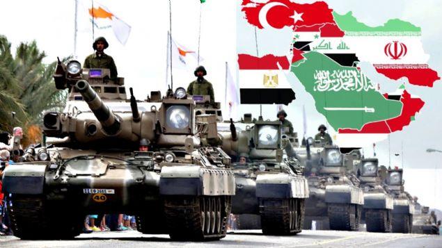 Orta Doğu Bölgesi'nde bulunan petrol rezervleri dolayısıyla yıllar boyu bu bölge, sömürge zihniyetini taşıyan devletlerin ilgi odağı oldu. 1. Dünya Savaşı'ndan sonra Orta Doğu'ya sahip olan Avrupalı devletler buradaki zenginliği paylaşamayınca 2. Dünya Savaşı patlak verdi! Orta Doğu devletleri sağlam durmak için ordularını kuvvetli tutmak zorunda; askeri istatistikler konusunda saygın bir internet sitesi olan Global Firepower Orta Doğu bölgesinin en güçlü ordularını listeledi! Peki Türkiye bu listede kaçıncı sırada yer aldı?