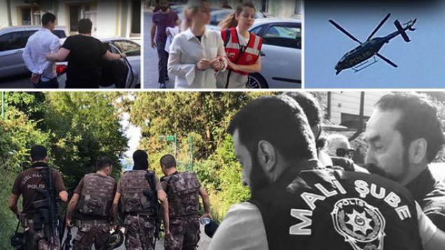 İstanbul merkezli 4 ilde, Adnan Oktar suç örgütüne yönelik başlatılan operasyonda, Adnan Oktar gözaltına alındı.