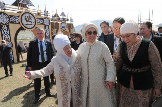 Emine Erdoğan Kırçın yalası'nda