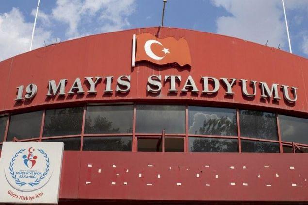 Ankara 19 Mayıs Stadı'nın yıkımı sürüyor!