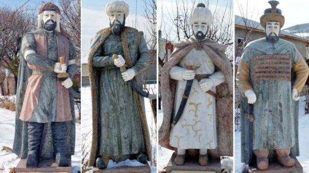 Çin'de 5 Osmanlı padişahının mermerden heykellerini yaptırdı