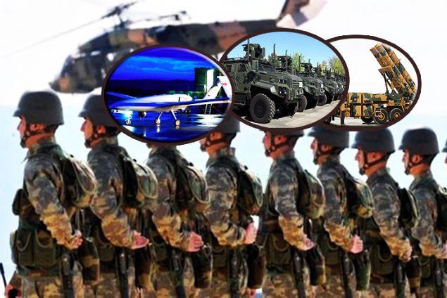Füzeler, İHA'lar, bombalar... Mehmetçiğe yerli destek
