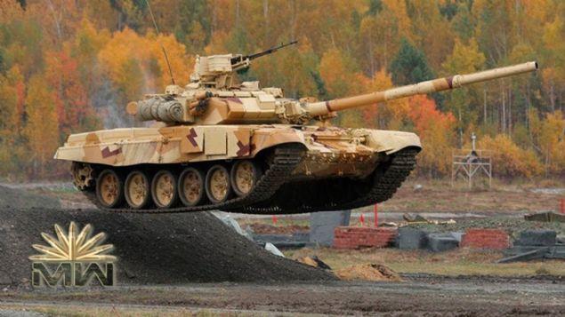 4. ISIYA DAYANIKLI TANK <br>    Yüksek teknolojili T-90 ana muharebe tankının geliştirilmiş versiyonu olan T-90MS, gelişmiş savaş yetenekleri sunuyor.