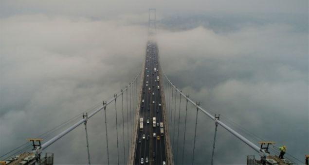 15 Temmuz Şehitler Köprüsü hayran bıraktı