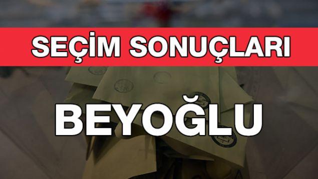 Geçersiz Oy Sayısı: 4.706  <br><br>  BEYOĞLU: AK PARTİ<br><br>  Kesin olmayan sonuçlara göre 65 bin 70 oy alan AKP'li Haydar Ali Yıldız Beyoğlu Belediye Başkanı seçildi. Onu 57 bin 435 oy alan CHP Adayı Alper Taş takip etti.