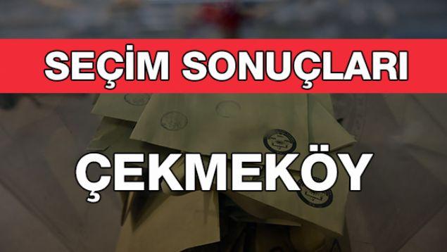 Geçersiz Oy Sayısı: 5.684  <br><br>  ÇEKMEKÖY: AK PARTİ<br><br>  Kesin olmayan sonuçlara göre 62 bin 20 oy alan AKP'li Ahmet Poyraz Çekmeköy Büyükşehir Belediye Başkanı seçildi. Onu 46 bin 686 oy ile CHP'li Seyfettin Yıldırım takip etti.