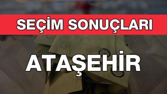 Geçersiz Oy Sayısı: 6.855<br><br>  ATAŞEHİR: CHP<br><br>  Ataşehir'de kesin olmayan sonuçlara göre seçimi CHP'nin mevcut başkanı Battal İlgezdi kazandı. 128 bin 560 oy alan İlgezdi'yi 112 bin 528 oy ile AKP'li İsmail Erdem takip etti.