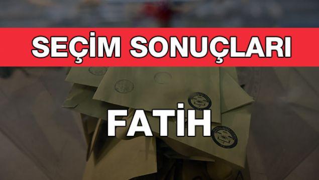 Geçersiz Oy Sayısı: 7.354  <br><br>  FATİH: AK PARTİ<br><br>  Kesin olmayan sonuçlara göre 114 bin 13 oy alan AKP'li Ergün Turan, Fatih Belediye Başkanı oldu. Onu 77 bin 532 oy ile CHP'li Soner Özimer takip etti.