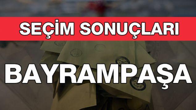 Geçersiz Oy Sayısı: 4.885  <br><br>  BAYRAMPAŞA: AK PARTİ<br><br>  Kesin olmayan sonuçlara göre Bayrampaşa'da seçimi 80 bin 719 oy alan AK Parti'li Atila Aydıner kazandı. Onu 72 bin 998 oy ile CHP'li Remzi Albayrak takip etti.