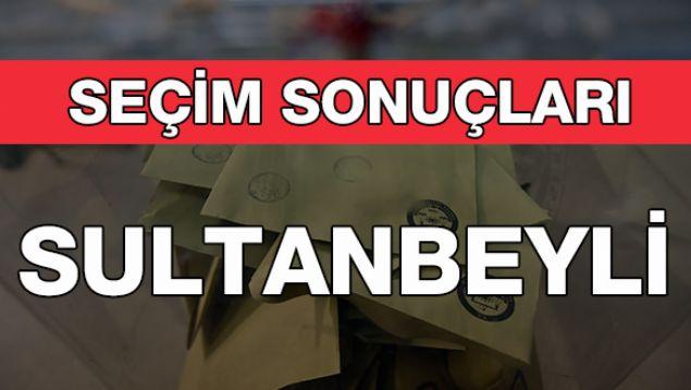 Geçersiz Oy Sayısı: 8.763  <br><br>  SULTANBEYLİ: AK PARTİ<br><br>  İstanbul'un Sultanbeyli ilçesinde belediye başkanlığını kesin olmayan sonuçlara göre, AK Parti adayı Hüseyin Keskin kazandı. Kesin olmayan sonuçlara göre, Hüseyin Keskin 77 bin 648, CHP adayı Ayhan Koç 20 bin 770, HDP adayı Nihat Akdoğan 13 bin 713 oy aldı.