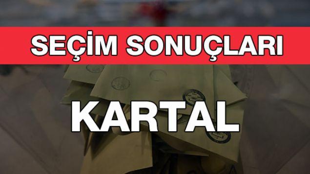 Geçersiz Oy Sayısı: 8.366  <br><br>  KARTAL: CHP<br><br>  Kesin olmayan sonuçlara göre, 147 bin 568 oy alan CHP'li Gökhan Yüksel, Kartal Belediye Başkanı seçildi. Onu 132 bin 684 oy alan AK Partili Ebubekir Taşyürek takip etti.