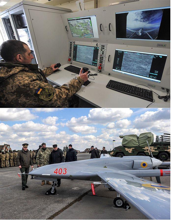 Milli gururumuz Bayraktar, Ukrayna'da operasyonel oldu