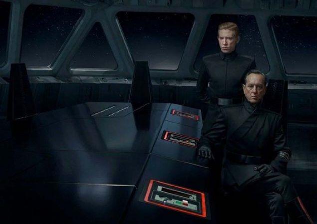 Yeni Star Wars'ın kamera arkası fotoğrafları