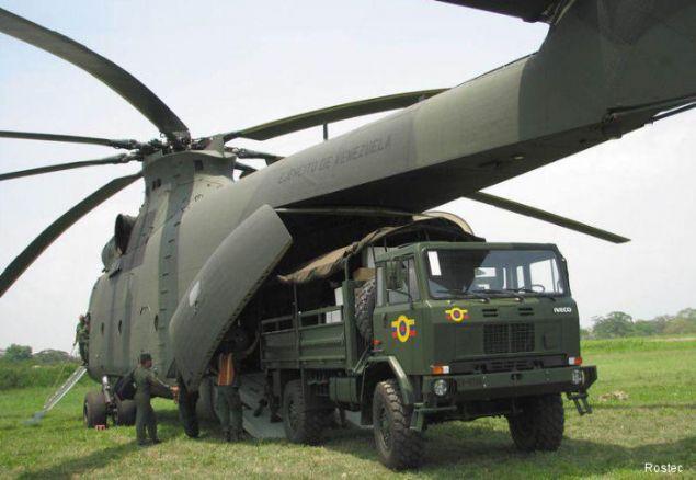 Rus havacılık devi Mil şirketi tarafından tasarlanan helikopter, günümüze kadar üretilen en güçlü ve en büyük helikopterdir.
