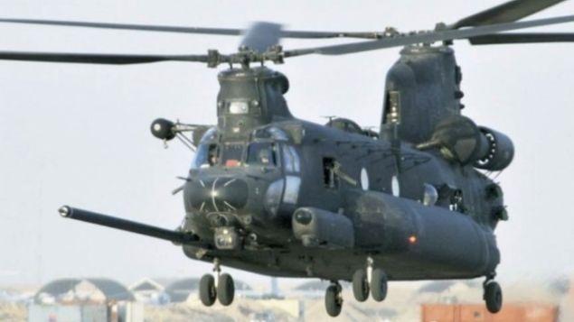 Chinook helikopterleri Türkiye'ye teslim edildi