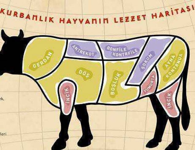 Kurban etinin lezzet haritası: Neresinden hangi yemek yapılır?