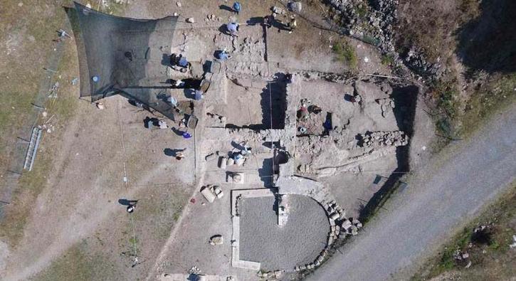 2. yüzyıla ait mezar bulundu! Karadeniz'in Zeugması olarak adlandırılıyor..