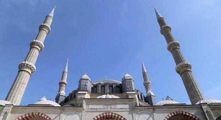 Selimiye Camisi ramazana hazırlanıyor