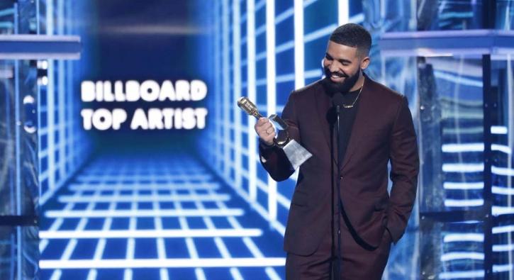 Billboard Müzik Ödülleri: Arya Stark'a teşekkür eden Drake, rekor kırdı