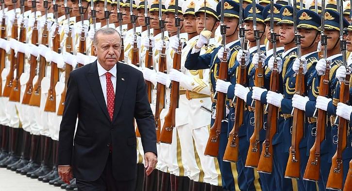 Başkan Erdoğan Çin'de