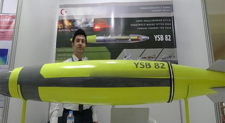 Dünyada bir ilk! Bu bomba Malatya'da üretildi
