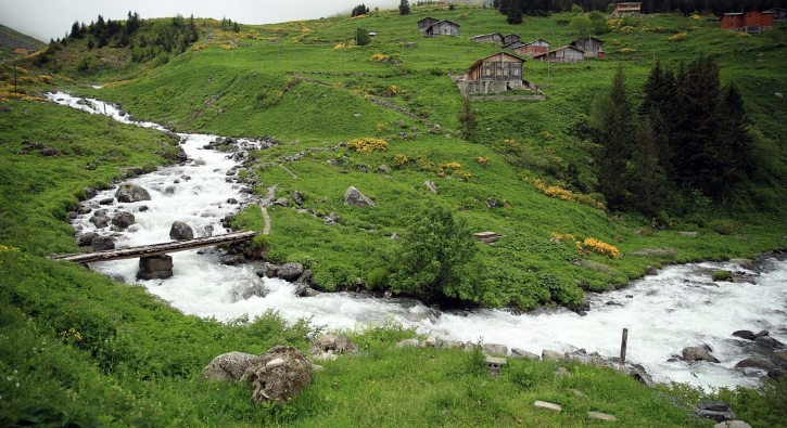 Kaçkar Dağları'nın eteklerinde: Turistler akın ediyor