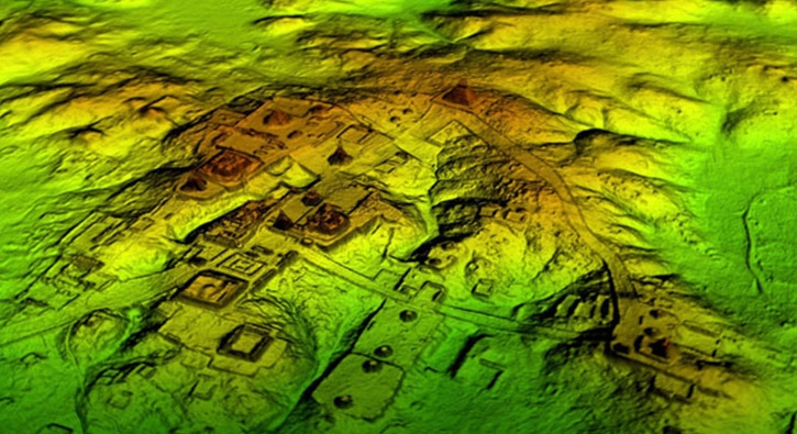 Lazerle gizli Maya şehri bulundu