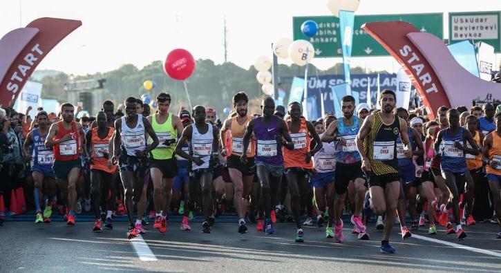 41'inci kez koşuldu! Maratondan renkli kareler