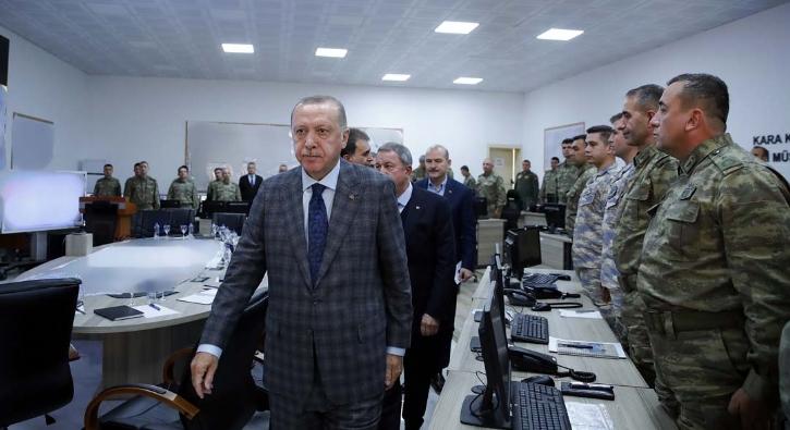 Başkan Erdoğan, Suriye sınırında