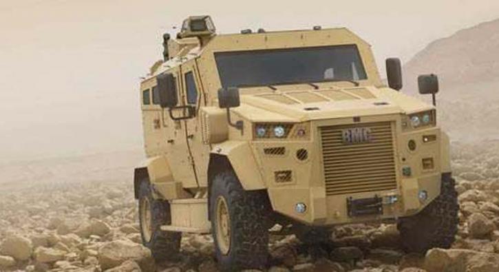 BMC'den askeri sürücüsüz araç