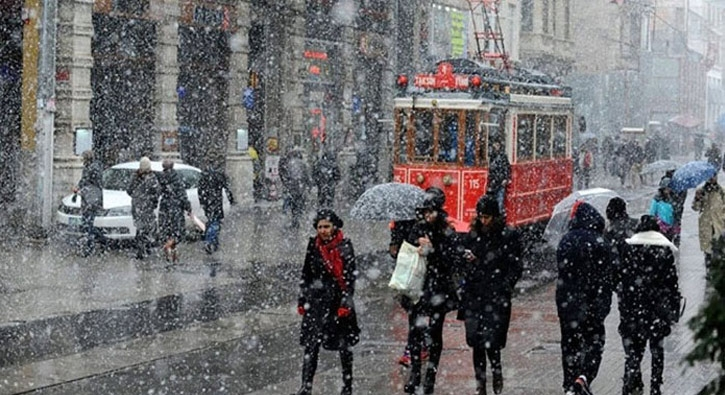 İstanbul'da kar ne zaman yağacak? İşte o tarih