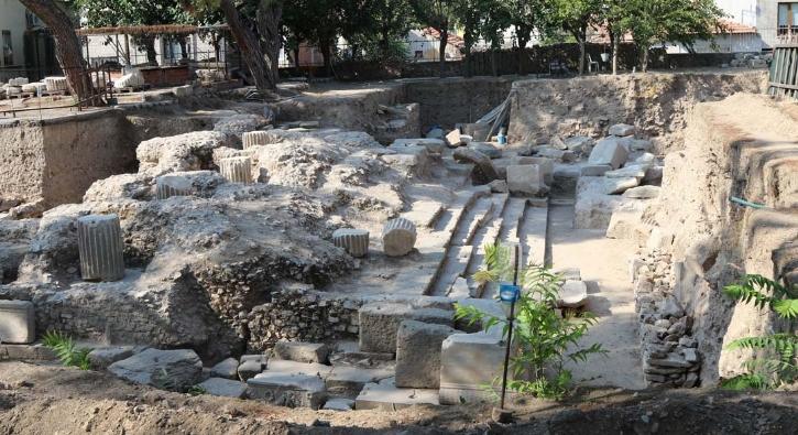 Helenistik ve Roma dönemine ait tapınak bulundu!